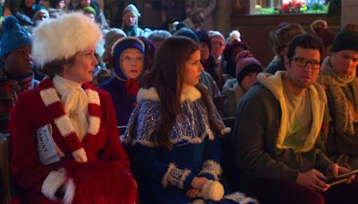 Anna Kendrick and Billy Eichner declare holiday film 'Noelle' is very punny