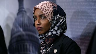 Rep. Ilhan Omar in fiery exchange after Trump and GOP demand she be removed from a foreign policy committee