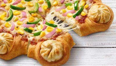 印度披薩新口味「餅皮鑲湯包」 網看形狀笑歪
