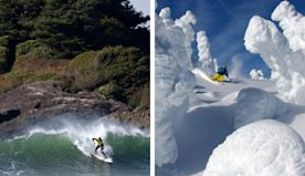 Ski and surf on the same day. But in Canada? Yes