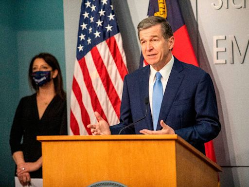NC Gov. Cooper holds his first news conference in two weeks. Here's how to watch.
