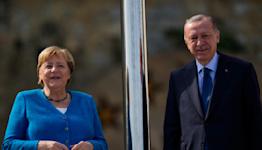 Turkey's Erdogan bids farewell to Merkel after 16 years