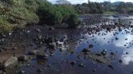 Oil Spill Spreads to the Mahebourg Waterfront in Riviere des Creoles, Mauritius