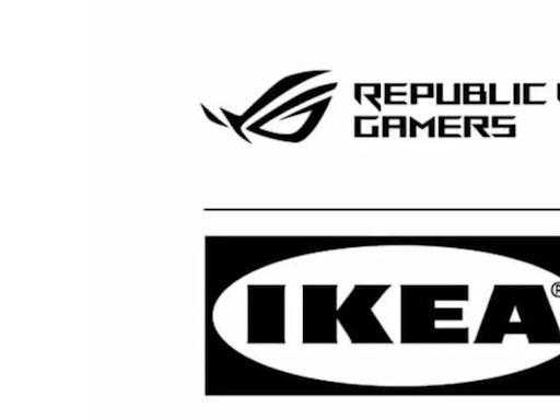 IKEA與華碩電競品牌ROG合作 將於10月推出聯名電競系列家具
