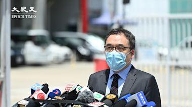 稱《蘋果》有文章呼籲外國制裁 李桂華警告市民不要轉發招惹嫌疑