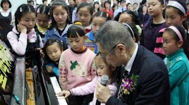 劉詩昆音樂學校開幕禮,甘比、朱李月華齊現身,女兒貝貝似小精靈