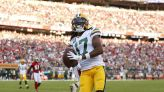 All 12 completions from Aaron Rodgers to Davante Adams vs. 49ers on 'SNF'