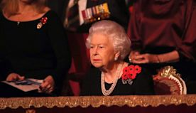 """Royals join standing ovation for """"Berlin Candy Bomber"""" at Remembrance Service"""