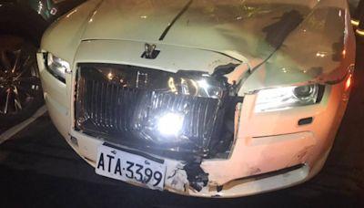 高階警官兒騎車遭撞昏迷送醫 千萬勞斯萊斯駕駛身分也曝光