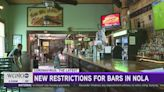 Coronavirus spike leads to new restrictions for New Orleans bars