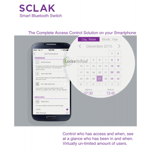 Buy SCLAK Bluetooth Access Control System | Locks Online