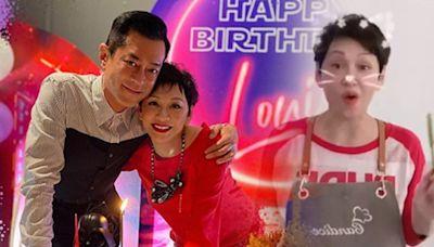 余安安親手整黑武士蛋糕 賀古天樂51歲生日