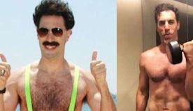 'Borat' Star Sacha Baron Cohen Is Kinda Shredded Now