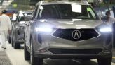 2022 Acura MDX production officially begins in Ohio for the revamped crossover