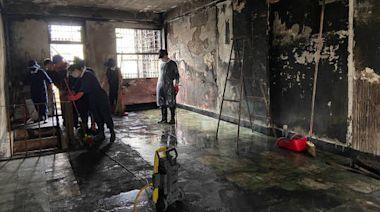 宜蘭弱勢家庭遭祝融 政府與民間協力清理修繕