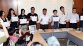 聲援香港!立委與公民團體開記者會 籲港府釋放被捕抗爭者