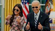 President Biden gave a very 'strange' gift to Olivia Rodrigo