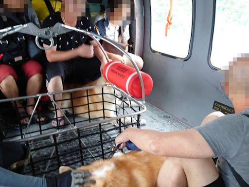 颱風天出遊動用直升機救援 為何無法開罰?陸上海上颱風警報涉險罰則一次看
