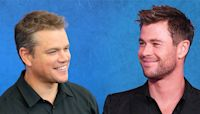 Inside Chris Hemsworth and Matt Damon's Globe-Trotting Bromance - E! Online