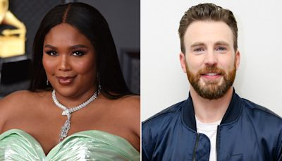 Chris Evans Reacts to Lizzo Joking She's Pregnant with His Baby: 'My Mother Will Be So Happy'