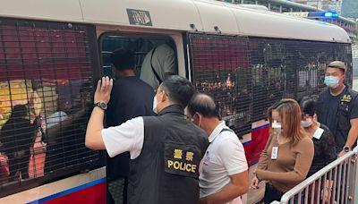 警冚荃灣非法麻雀賭檔 拘8男女兼發犯聚告票