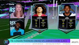 Fantasy FaceOff Week 3 - Logan Thomas vs. Jared Cook