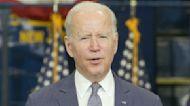 Biden speaks on infrastructure and spending bills during New Jersey visit
