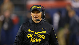 Army HC Jeff Monken ends press conference with a perfect Wisconsin-related request