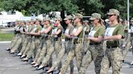 Ukrainian Army Faces Criticism After Female Cadets March in Heels
