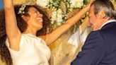 Afef si è sposata: nozze con Alessandro del Bono in Costa Azzurra