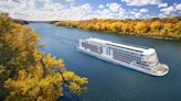 Viking cruising into St. Paul for Mississippi River tours in 2022