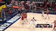 Mikal Bridges with a buzzer beater vs the Denver Nuggets
