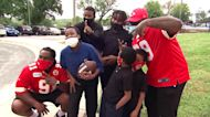 How Kansas City Chiefs help fight hunger with 'backsnacks' for kids