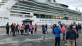 Locals rejoice as the first big cruise ship returns to Alaska