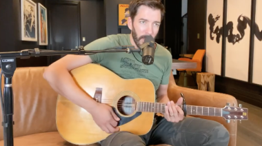 """Drew Scott's Cover of Ed Sheeran Will Leave You """"Thinking Out Loud"""""""
