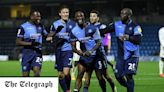 Wycombe secure first point of the season in draw with high-flying Watford
