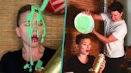 Scarlett Johansson Gets Slimed By Husband Colin Jost In The Middle Of MTV Movie & TV Awards Speech