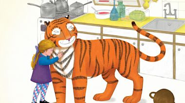 The Tiger Who Came to Tea, review: even Robbie Williams can't dent this beloved classic