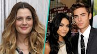 Drew Barrymore Was Once 'Third Wheel' On A Date With Zac Efron & Vanessa Hudgens