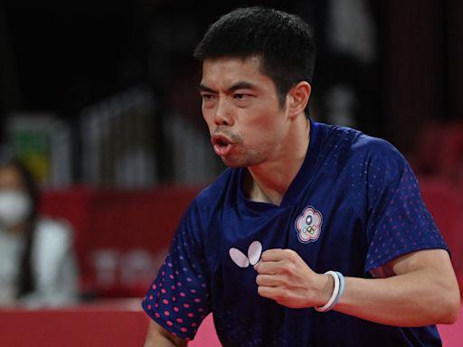 全運會桌球團體賽東奧國手對決 莊智淵勝林昀儒