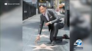 Jimmy Smits unveils star on Walk of Fame