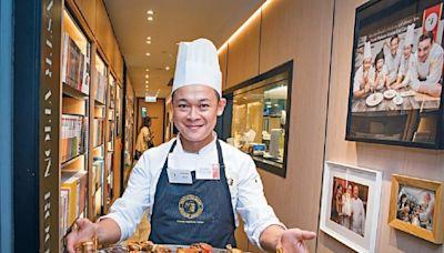 在港修讀專業法國烹飪文憑 梁祖堯獲發法國教育部證書