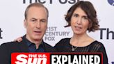 Who is Bob Odenkirk's wife Naomi?