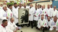 Cuban doctors arrive in Italy to battle virus