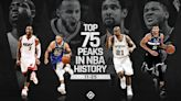 NBA's Greatest 75 Players: Ranking the top peaks in NBA history, 25-11