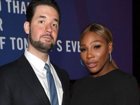 Serena Williams Flashes Lots Of Leg In Fishnet Stockings For Date Night
