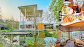 【埔里】蟲子咖啡景觀餐廳~水池倒影的庭園美景好好拍!