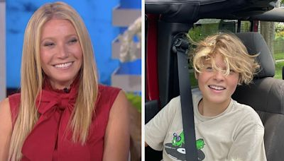 Gwyneth Paltrow's 15-Year-Old Son Apparently Told Her She's A Feminist Because Goop Sells Vibrators, Which Is...