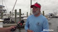 Rough surf delays couple's international move across the Gulf