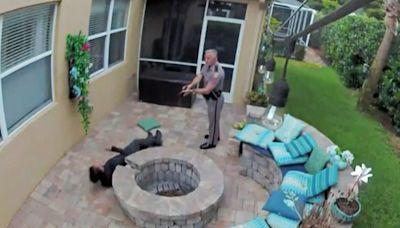 Video shows Florida trooper using stun gun on teenager